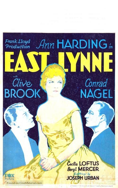 East Lynne - Movie Poster