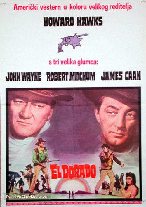 El Dorado - Yugoslav Movie Poster