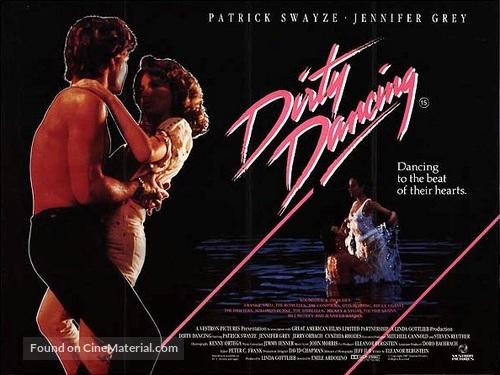 Dirty Dancing - British Movie Poster