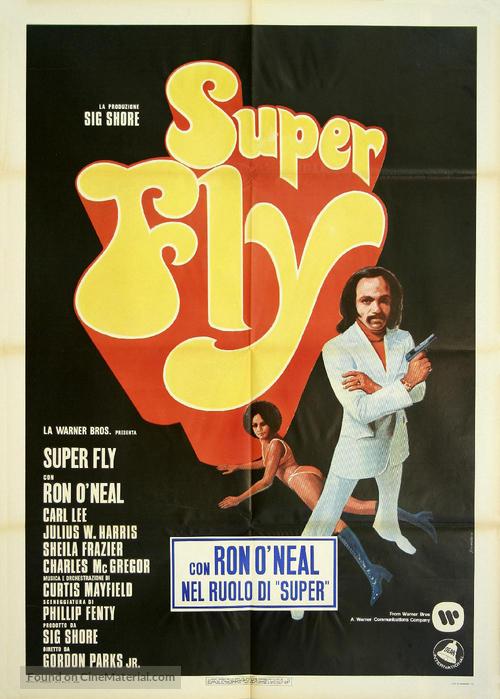 Superfly - Italian Movie Poster