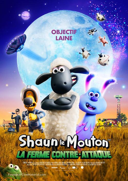 A Shaun the Sheep Movie: Farmageddon - Swiss Movie Poster