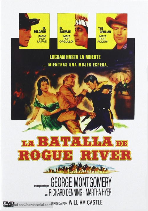 battle of rogue river 1954 spanish movie cover cinematerial