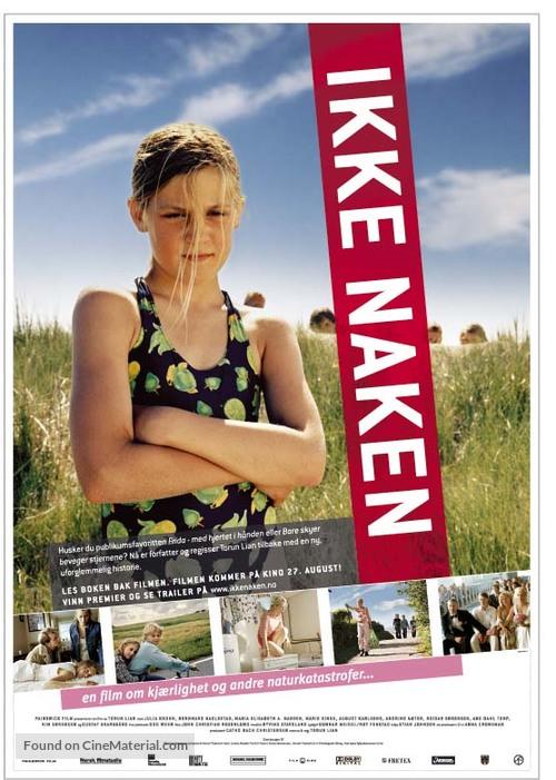Ikke naken - Norwegian Movie Poster