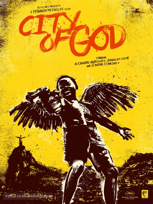 Cidade de Deus - British Movie Poster
