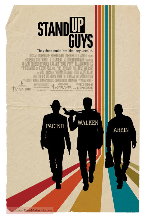 Stand Up Guys - Movie Poster