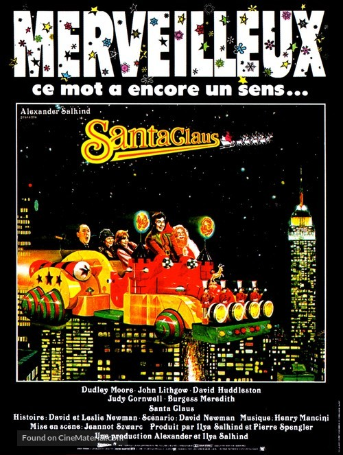 Santa Claus - French Movie Poster