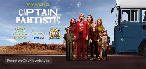 Captain Fantastic - German Movie Poster