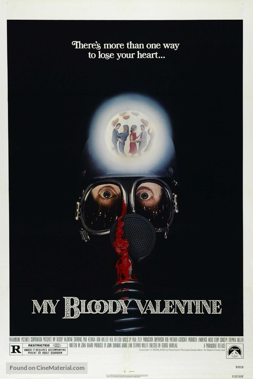 My Bloody Valentine - Theatrical movie poster