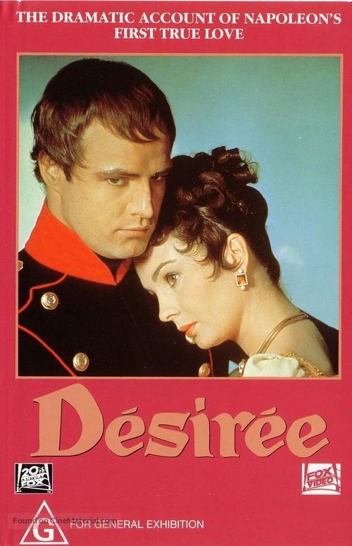 Desirée - Australian VHS movie cover