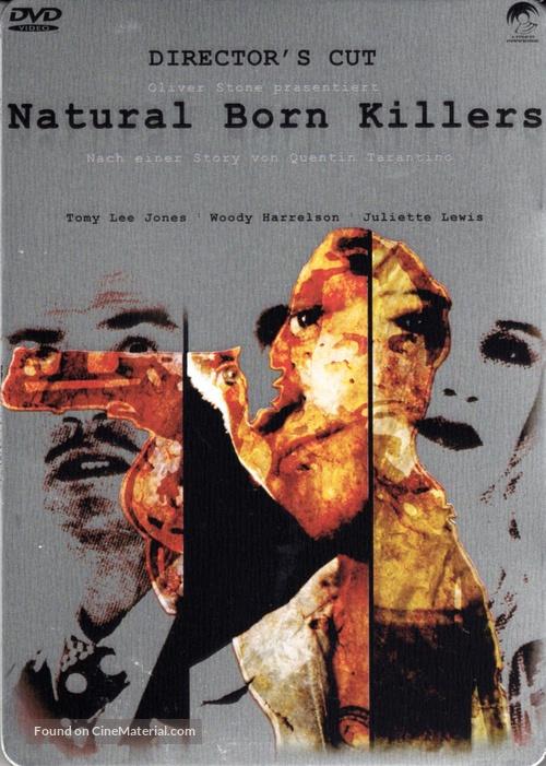 Natural Born Killers - German DVD movie cover