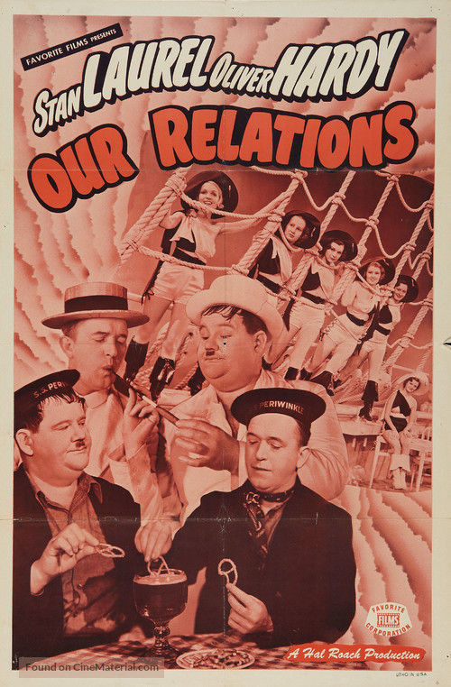 Our Relations - Re-release movie poster