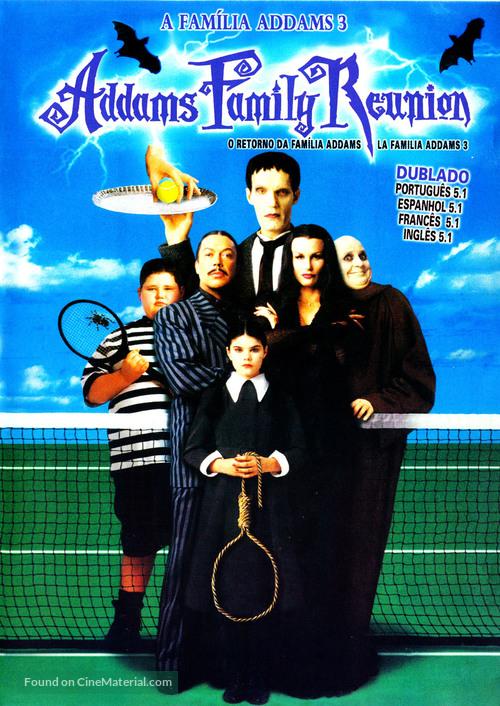 Addams Family Reunion - Brazilian DVD movie cover
