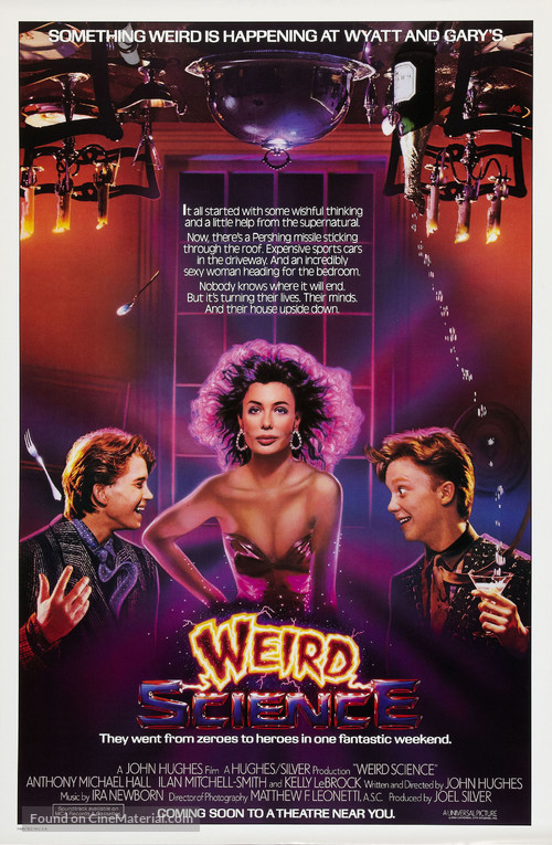 Weird Science - Advance movie poster
