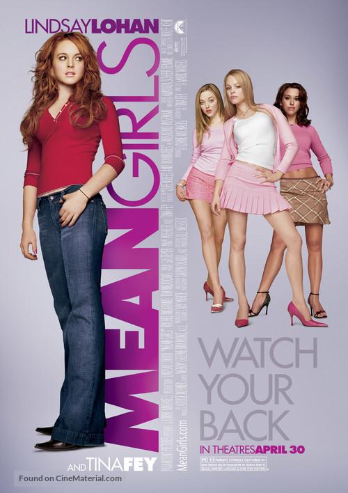 Mean Girls - Movie Poster
