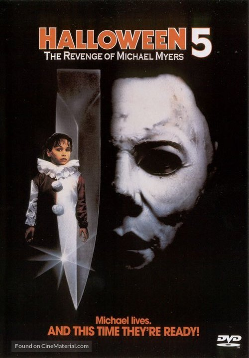 Halloween 5 - DVD movie cover