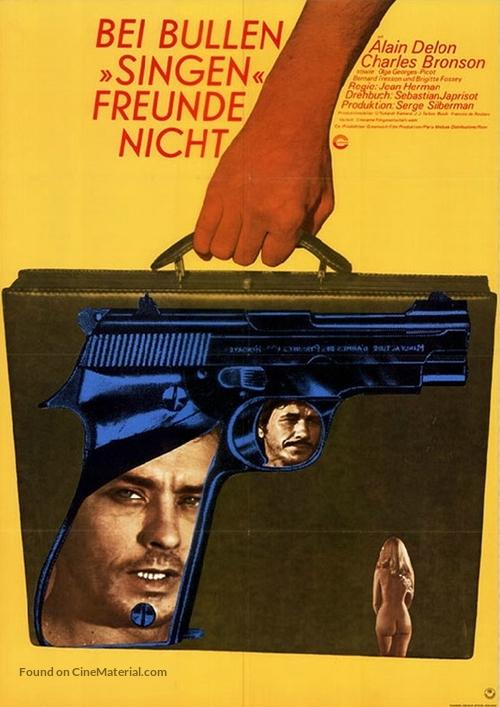 Adieu l'ami - German Movie Poster