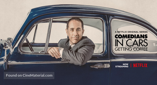 """""""Comedians in Cars Getting Coffee"""" - Movie Poster"""