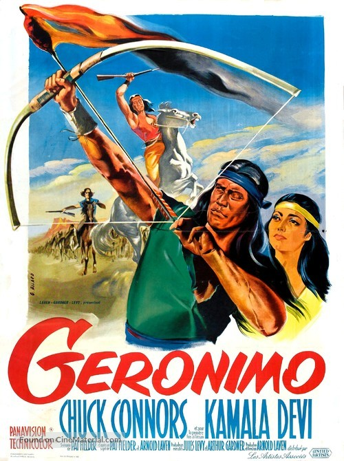 Geronimo - French Movie Poster