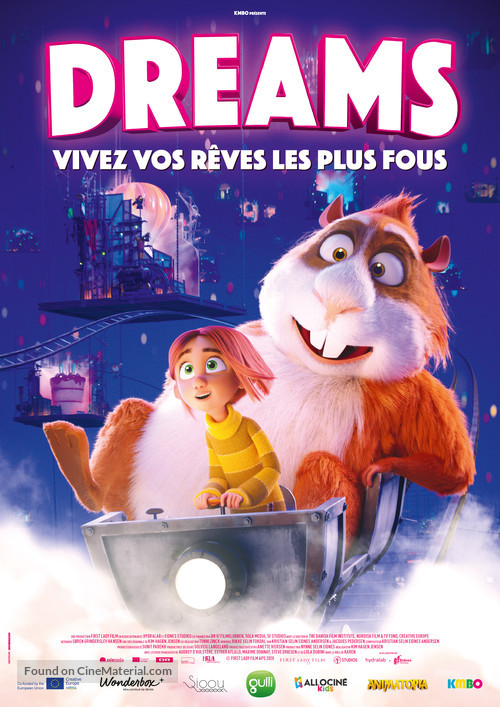 Dreambuilders - French Movie Poster