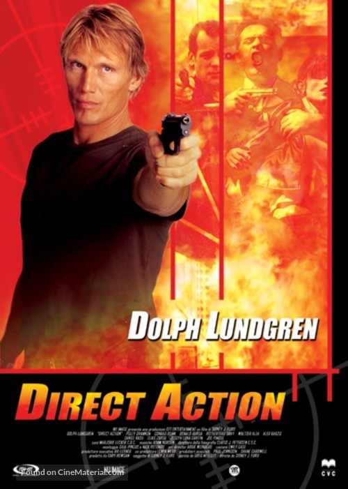 Direct Action - Italian DVD movie cover