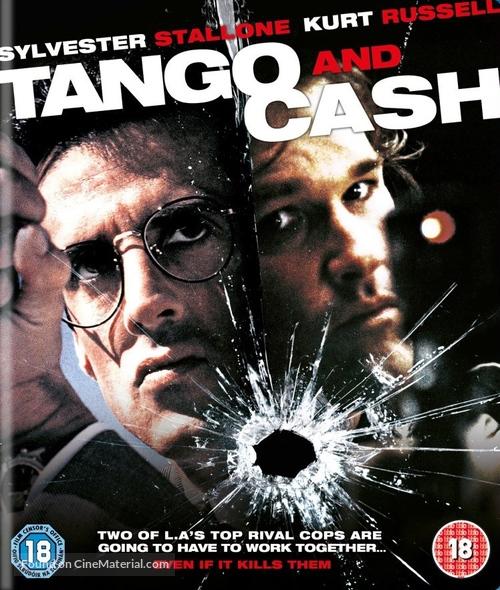 Tango And Cash - British Blu-Ray movie cover