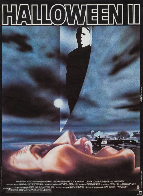 Halloween II - French Movie Poster
