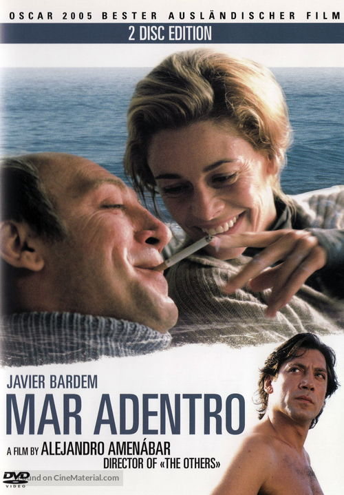 Mar adentro - Swiss DVD movie cover