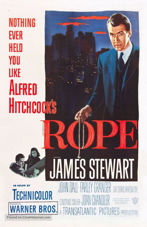 Rope - Theatrical movie poster