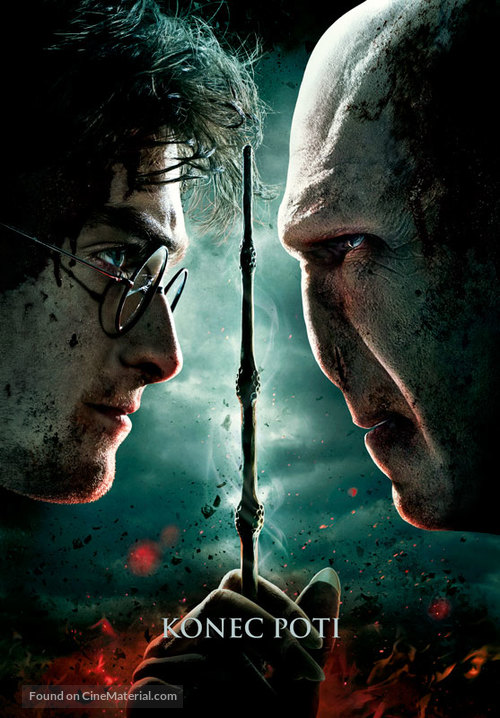Harry Potter and the Deathly Hallows: Part II - Slovenian Movie Poster