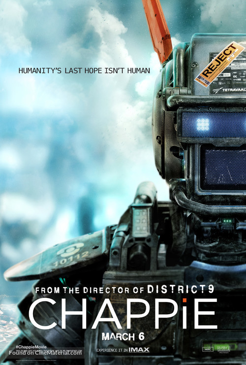 Chappie - Movie Poster