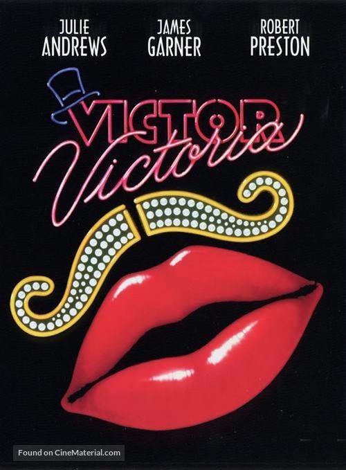 Victor/Victoria - DVD movie cover