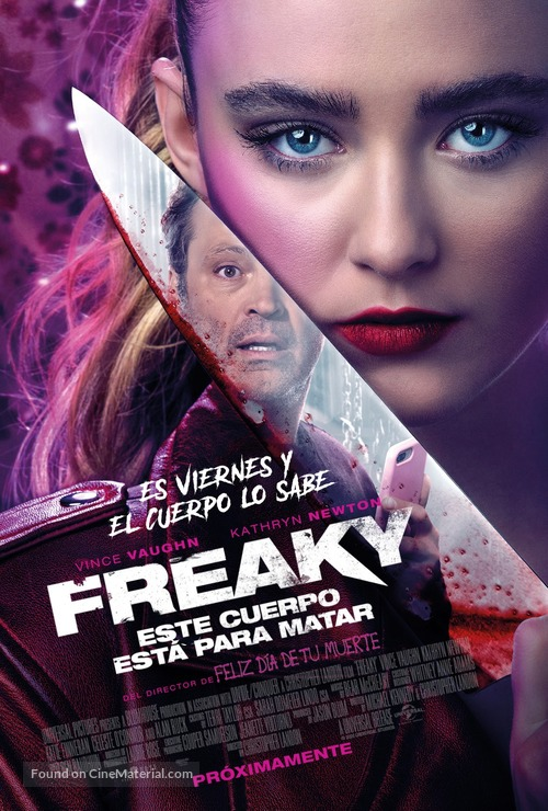 Freaky - Argentinian Movie Poster