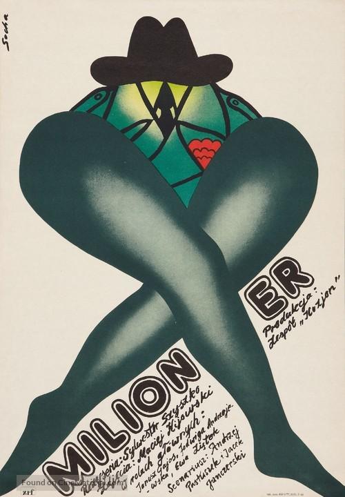 Milioner - Polish Movie Poster