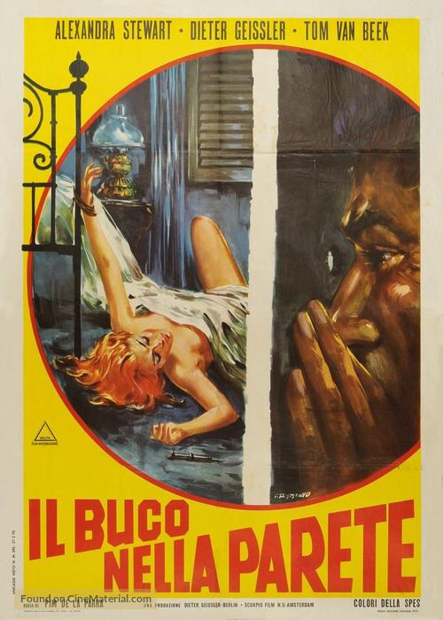 Bezeten - Het gat in de muur - Italian Movie Poster