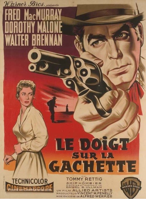At Gunpoint - French Movie Poster