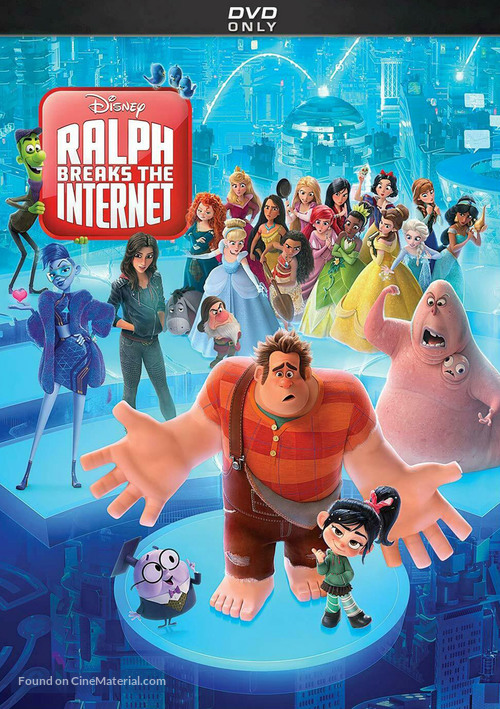 Ralph Breaks the Internet - DVD movie cover