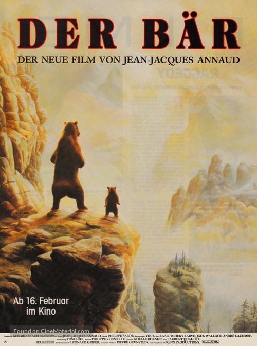 The Bear - German Movie Poster