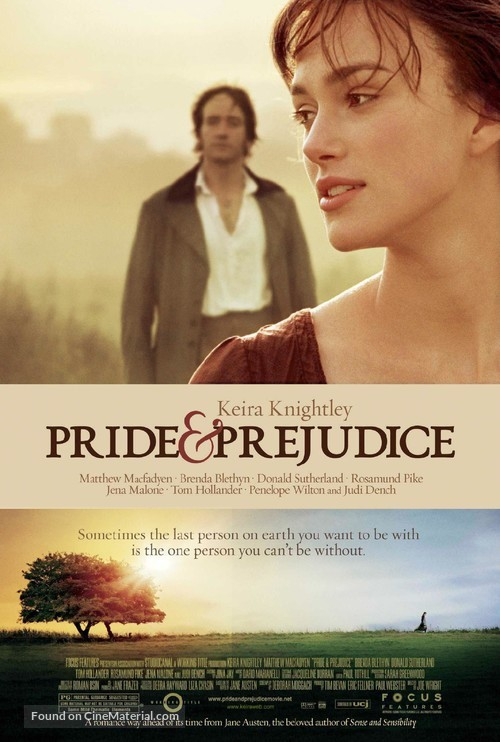 Pride & Prejudice - Theatrical movie poster