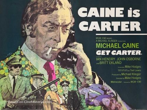 Get Carter - British Movie Poster