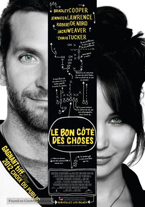 Silver Linings Playbook - Canadian Movie Poster