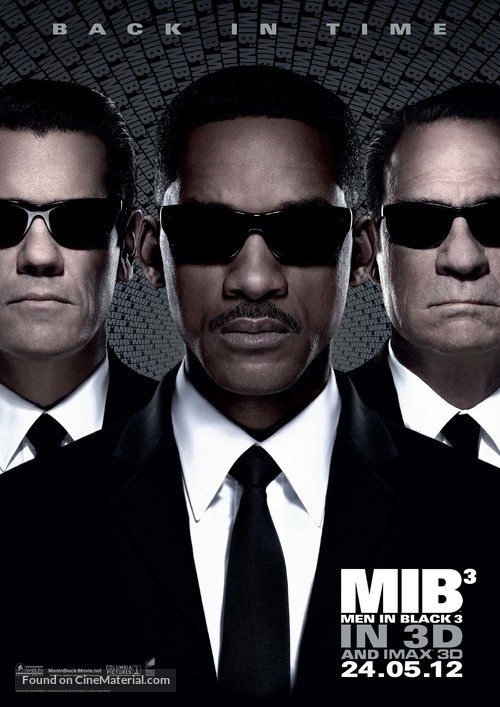 Men in Black 3 - Malaysian Movie Poster