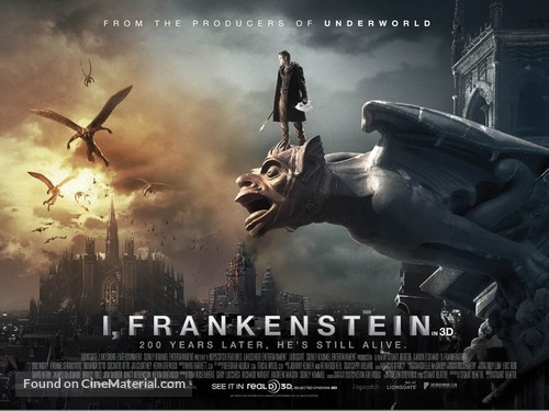 I, Frankenstein - Movie Poster