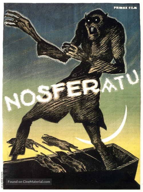 Nosferatu, eine Symphonie des Grauens - German Movie Poster