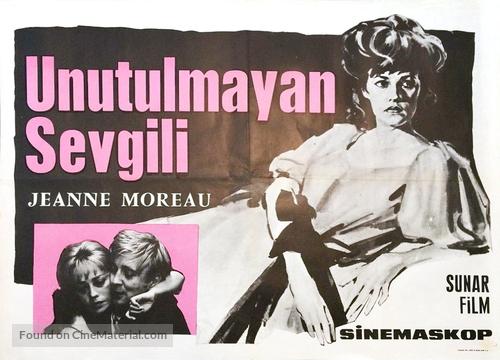 Jules Et Jim - Turkish Movie Poster