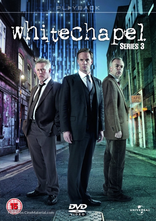 """Whitechapel"" - British DVD movie cover"