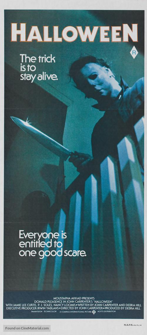 Halloween - Australian Movie Poster
