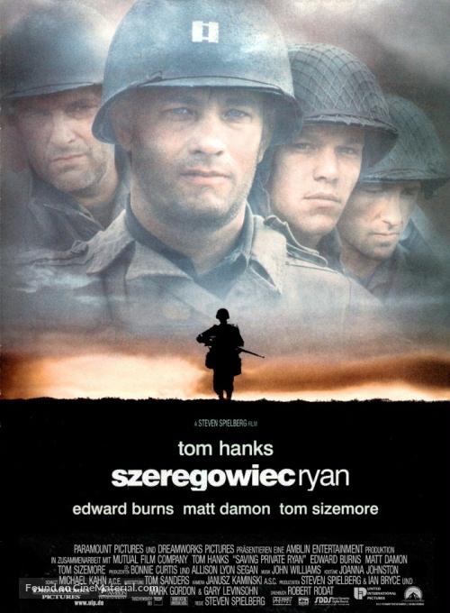 Saving Private Ryan - Polish Movie Poster
