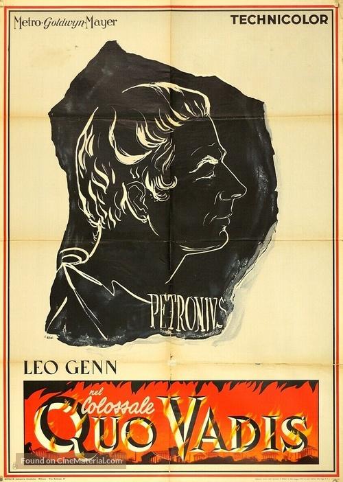 Quo Vadis - Italian Movie Poster