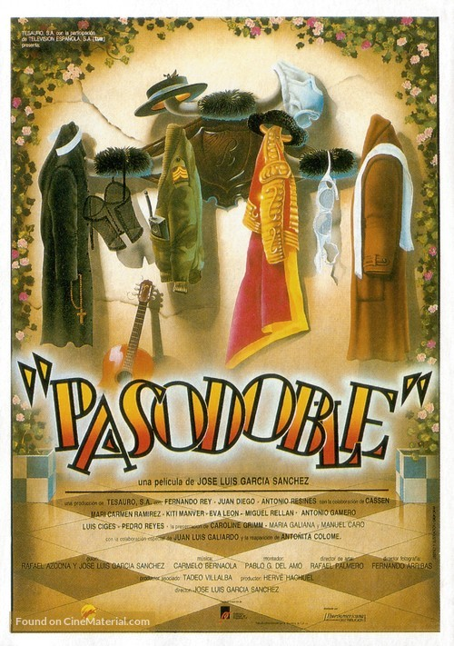 Pasodoble - Spanish Movie Poster