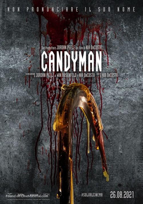 Candyman - Italian Movie Poster